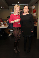 NO REPRO FEE. 8/11/2011. The Counter Celebrates its first birthday. Pictured at the Counter Burber Restaurant on Suffolk St Dublin are Mary Ryan and Linda Mc Evitt.  Picture James Horan /Collins
