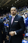 11 November 2016: Duke assistant coach Jeff Capel. The Duke University Blue Devils hosted the Marist College Red Foxes at Cameron Indoor Stadium in Durham, North Carolina in a 2016-17 NCAA Division I Men's Basketball game. Duke won the game 94-49.