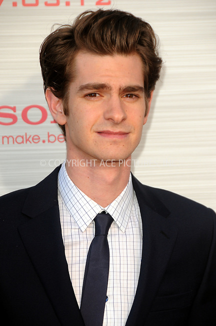 WWW.ACEPIXS.COM . . . . .  ....June 28 2012, LA....Actor Andrew Garfield arriving at the premiere of Columbia Pictures' 'The Amazing Spider-Man' at the Regency Village Theatre on June 28, 2012 in Westwood, California....Please byline: PETER WEST - ACE PICTURES.... *** ***..Ace Pictures, Inc:  ..Philip Vaughan (212) 243-8787 or (646) 769 0430..e-mail: info@acepixs.com..web: http://www.acepixs.com