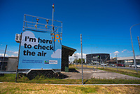 Air monitoring station. Bay Of Plenty Regional Council photoshoot in Mount Maunganui, New Zealand on Friday, 23 November 2018. Photo: Dave Lintott / lintottphoto.co.nz