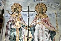 BG51473.JPG BULGARIA, BATCHKOVO MONASTERY, CHURCH OF SVETA-BOGORODITSA , 1604, frescoes