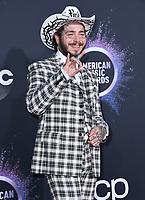 24 November 2019 - Los Angeles, California - Post Malone. 2019 American Music Awards - Arrivals held at Microsoft Theater. Photo Credit: Birdie Thompson/AdMedia