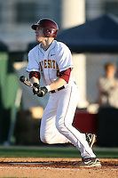 February 20, 2009:  Third baseman Kyle Geason (4) of the University of Minnesota during the Big East-Big Ten Challenge at Jack Russell Stadium in Clearwater, FL.  Photo by:  Mike Janes/Four Seam Images