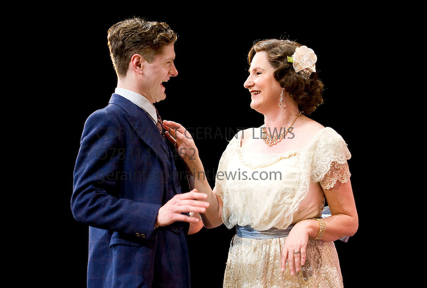The Glass Menagerie by Tennessee Williams,directed by Joe Hill-Gibbins .With Deborah Findlay as Amanda Wingfield,Kyle Soller as The Gentleman Caller.Opens at The Young Vic  Theatre  on 17/11/10  CREDIT Geraint Lewis