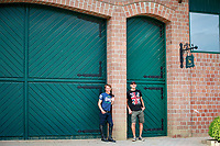 Daniel and Silvio Decarvalho: 2017 GER-YARD VISIT: Daniel Meech. Niederkrüchten, Germany. Monday 31 July. Copyright Photo: Libby Law Photography