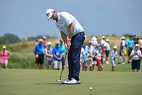 Marc Leishman (AUS) watches his putt on 10 during round 3 of the AT&amp;T Byron Nelson, Trinity Forest Golf Club, at Dallas, Texas, USA. 5/19/2018.<br /> Picture: Golffile | Ken Murray<br /> <br /> <br /> All photo usage must carry mandatory copyright credit (&copy; Golffile | Ken Murray)