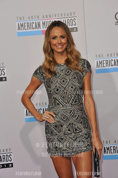 Stacy Keibler at the 40th Anniversary American Music Awards at the Nokia Theatre LA Live..November 18, 2012  Los Angeles, CA.Picture: Paul Smith / Featureflash