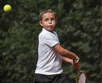 Hilversum, Netherlands, August 10, 2016, National Junior Championships, NJK, Kyvan Rietkerk (NED)<br /> Photo: Tennisimages/Henk Koster