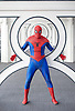London Super Comic Con<br /> at Design Centre Islington, London, Great Britain <br /> 26th August 2017 <br /> <br /> Spiderman <br /> aka Lee Zemo America <br /> <br /> <br /> <br /> London Super Comic Con plays host to the latest comics, comic related memorabilia, superheroes and graphic novels fans have a chance to interact with their favourite creators, and  exhibitors showcasing items from comics to Cosplay, original art to toys.<br /> <br /> <br /> <br /> <br /> Photograph by Elliott Franks <br /> Image licensed to Elliott Franks Photography Services
