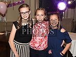 Erika Bastianelli, Allie and Isabella Garcia at Susan Bastianelli's 50th birthday in The Thatch.  Photo:Colin Bell/pressphotos.ie