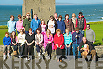 National Trails Day: Walkers who took part in the National Trail Day walking event in ballybunion on Sunday led by Padraig Hanrahan on the Castle Green