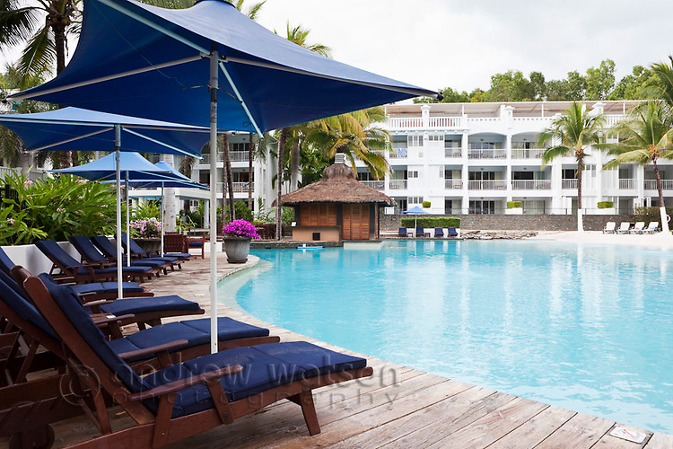 Swimming pool at The Beach Club resort.   Palm Cove, Cairns, Queensland, Australia