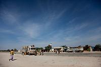 Roadside village between Hargeysa and Berbera in Somaliland.
