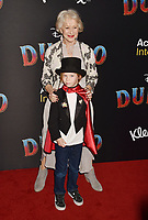 HOLLYWOOD, CA - MARCH 11: Helen Mirren and Waylon Hackford attend the premiere of Disney's 'Dumbo' at El Capitan Theatre on March 11, 2019 in Los Angeles, California.<br /> CAP/ROT/TM<br /> &copy;TM/ROT/Capital Pictures