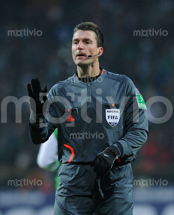 Fussball 1. Bundesliga   Saison   2009/2010  19. Spieltag  23.01.2010 FC Bayern Muenchen  -  SV Werder Bremen Schiedsrichter Knut Kircher