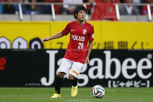 Takahiro Sekine (Reds),<br /> July 19, 2014 - Football /Soccer : <br /> 2014 J.LEAGUE Division 1 match<br /> between Urawa Reds 1-0  Albirex Niigata<br /> at Saitama Stadium 2002, Saitama, Japan. <br /> (Photo by Shingo Ito/AFLO SPORT) [1195]