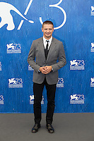 Jeremy Renner at the photocall for Arrival at the 2016 Venice Film Festival.<br /> September 1, 2016  Venice, Italy<br /> Picture: Kristina Afanasyeva / Featureflash