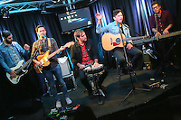 BALA CYNWYD, PA - OCTOBER 20 :  Arkells visit Radio 104.5 performance studio in Bala Cynwyd, Pa on October 20, 2016  photo credit  Star Shooter/MediaPunch