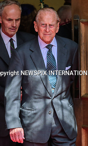 05.07.2017, Stirling; Scotland: DUKE OF EDINBURGH<br /> accompanied The Queen on a visit Stirling Castle, the spiritual home of the Argyll and Sutherland Highlanders, to mark her 70 years as Colonel-in-Chief of the regiment and as Royal Colonel of Balaklava Company, 5th Battalion The Royal Regiment of Scotland (5 SCOTS).<br /> Mandatory Credit Photo: &copy;MoD/NEWSPIX INTERNATIONAL<br /> <br /> IMMEDIATE CONFIRMATION OF USAGE REQUIRED:<br /> Newspix International, 31 Chinnery Hill, Bishop's Stortford, ENGLAND CM23 3PS<br /> Tel:+441279 324672  ; Fax: +441279656877<br /> Mobile:  07775681153<br /> e-mail: info@newspixinternational.co.uk<br /> *All fees payable to Newspix International*