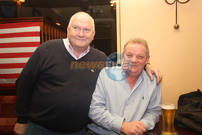 Eddie Murray and Paul Campbell watching the Breeders Cup in Nolans...(Photo credit should read Jenny Matthews www.newsfile.ie)....This Picture has been sent you under the condtions enclosed by:.Newsfile Ltd..The Studio,.Millmount Abbey,.Drogheda,.Co Meath..Ireland..Tel: +353(0)41-9871240.Fax: +353(0)41-9871260.GSM: +353(0)86-2500958.email: pictures@newsfile.ie.www.newsfile.ie.