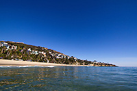 The Shoreline of Laguna Beach California
