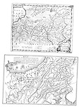 1700s - British and French maps of Pennsylvania and Ohio