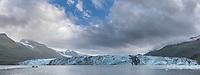 Harvord tidewater glacier, College Fjord, Prince William Sound, Alaska.