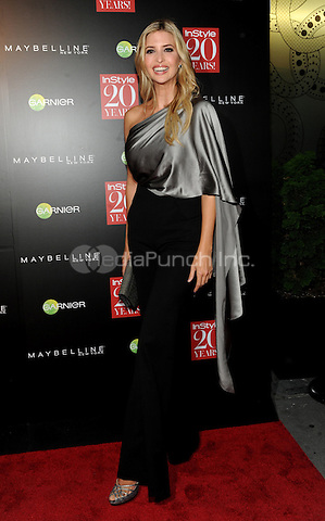 New York, NY-September 8: Ivanka Trump attends Instyle 20th Anniversary Party on September 8, 2014 at Diamond Horseshoe at the Paramount Hotel in New York City.  Credit: John Palmer/MediaPunch