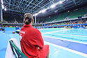 General view, <br /> AUGUST 14, 2016- Water Polo : <br /> Men's Preliminary Round group A<br /> match between Serbia - Japan <br /> at Olympic Aquatics Stadium<br /> during the Rio 2016 Olympic Games in Rio de Janeiro, Brazil. <br /> (Photo by Yohei Osada/AFLO SPORT)