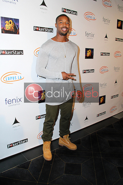 Michael B. Jordan<br /> Get Lucky For Lupus 6th Annual Poker Tournament, Avalon, Hollywood, CA 09-18-14<br /> David Edwards/DailyCeleb.com 818-249-4998