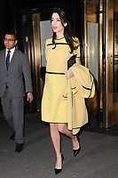www.acepixs.com<br /> March 9, 2017  New York City<br /> <br /> Amal Clooney heads to the UN on March 9, 2017 in New York City.<br /> <br /> Credit: Kristin Callahan/ACE Pictures<br /> <br /> <br /> Tel: 646 769 0430<br /> Email: info@acepixs.com