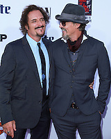 HOLLYWOOD, LOS ANGELES, CA, USA - SEPTEMBER 06: Kim Coates, Tommy Flanagan arrives at the Los Angeles Premiere Of FX's 'Sons Of Anarchy' Season 7 held at the TCL Chinese Theatre on September 6, 2014 in Hollywood, Los Angeles, California, United States. (Photo by David Acosta/Celebrity Monitor)