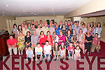 Family Gathering: The Griffin family from Fourhane, Knocknaglougha & Duagh attending their family gathering at the Listowel Arms Hotel on Saturday night last.