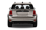 Straight rear view of 2020 MINI Countryman Cooper-Signature 5 Door Hatchback Rear View  stock images