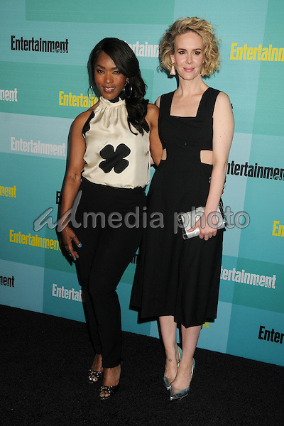 11 July 2015 - San Diego, California - Angela Bassett, Sarah Paulson. Entertainment Weekly 2015 Comic-Con Celebration held at Float at the Hard Rock Hotel. Photo Credit: Byron Purvis/AdMedia