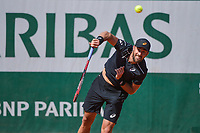 Steve Johnson of USA during Day 3 for the French Open 2018 on May 29, 2018 in Paris, France. (Photo by Baptiste Fernandez/Icon Sport)