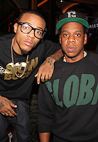 NEW YORK, NY - SEPTEMBER 26:..Bow Wow & Jay-Z attend the NBA 2K13 Premeire at 40/40.....© Walik Goshorn / Retna Ltd. /MediaPunch Inc. /NortePhoto
