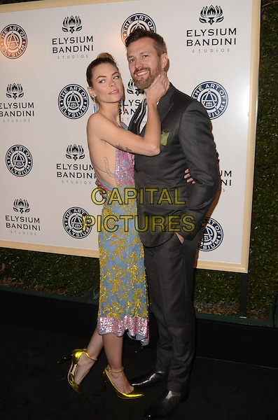 LOS ANGELES, CA - JANUARY 7: Jaime King, Kyle Newman at the The Art Of Elysium Tenth Annual Celebration 'Heaven' Charity Gala at Red Studios in Los Angeles, California on January 7, 2017. <br /> CAP/MPI/DE<br /> &copy;DE/MPI/Capital Pictures