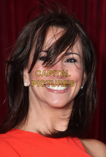 ANDREA McLEAN .'An Audience with Michael Buble' at the London ITV Studios, South Bank, London, England..May 3rd, 2010.headshot portrait red windy hair .CAP/JIL.©Jill Mayhew/Capital Pictures.
