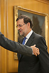 Spanish Government President Mariano Rajoy during Royal Audiences with King Felipe VI of Spain at Palacio de la Zarzuela in Madrid, Spain. November 03, 2014. (ALTERPHOTOS/Victor Blanco)