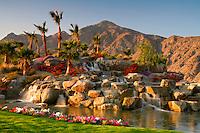 Silver Rock Resort and golf course in La Quinta near Palm Springs, California