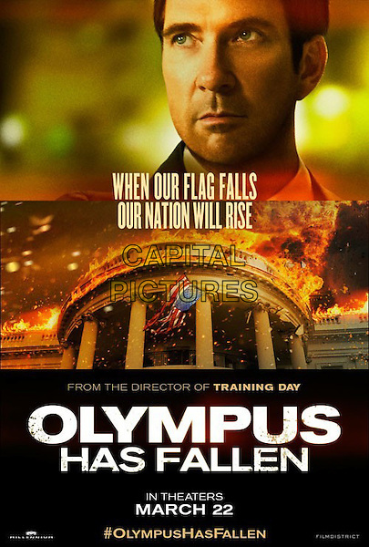POSTER ART .in Olympus Has Fallen (2013) .*Filmstill - Editorial Use Only*.CAP/NFS.Supplied by Capital Pictures.