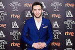 Ricardo Gomez attends to the 2017 Goya Awards Candidates Cocktail at Ritz Hotel in Madrid, Spain. January 12, 2017. (ALTERPHOTOS/BorjaB.Hojas)