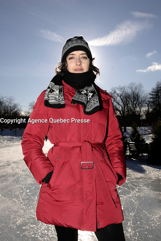 EXCLUSIVE PHOTO of singer Marie-Pierre Arthur in 2012.<br /> <br /> <br /> NO SALE IN CANADA