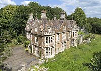 BNPS.co.uk (01202 558833)<br /> Pic: CarterJonas/BNPS<br /> <br /> A run down country mansion in desperate need of renovation has emerged for sale for £1.5m.<br /> <br /> The Grade II listed Bowden Hill House in the village of Lacock, Wilts, dates back to the 1850s and stands on a breathtaking 34 acre plot.<br /> <br /> Despite boasting an incredible 21 bedrooms, the secluded home has been derelict for several years and is in a state of total disrepair.