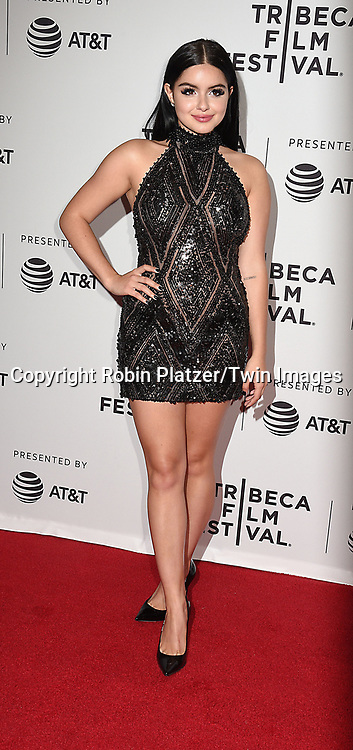 Ariel Winter attends the Dog Years&quot; screening at the Tribeca Film Festival on April 22, 2017 at Cinepolis Chelsea in New York, New York, USA.<br /> <br /> photo by Robin Platzer/Twin Images<br />  <br /> phone number 212-935-0770