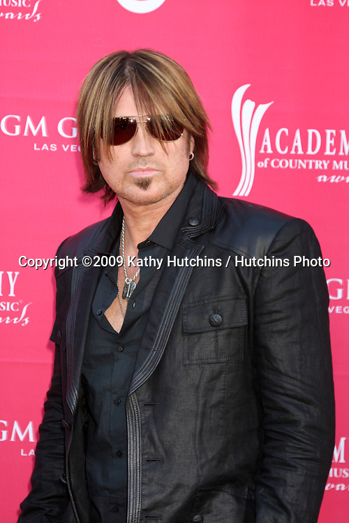 Billy Ray Cyrus  arriving at the 44th Academy of Country Music Awards at the MGM Grand Arena in  Las Vegas, NV on April 5, 2009.©2009 Kathy Hutchins / Hutchins Photo....                .