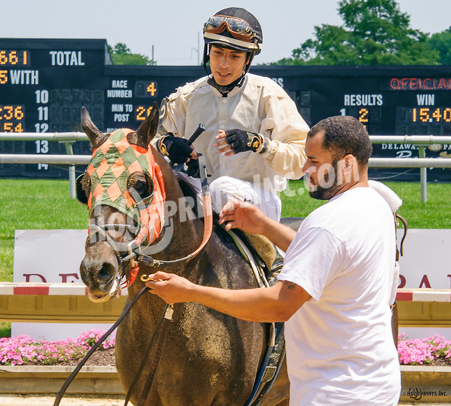 Stourbridge Lion winning at Delaware Park on 6/20/16