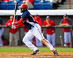 4 March 2009: Washington Nationals' shortstop Cristian Guzman in action during a Spring Training game against the New York Mets at Space Coast Stadium in Viera, Florida. The Nationals rallied to defeat the Mets 6-4 . Mandatory Photo Credit: Ed Wolfstein Photo