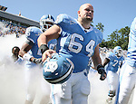 02 September 2006: UNC's Scott Lenahan (64) before the game. The University of North Carolina Tarheels lost 21-16 to the Rutgers Scarlett Knights at Kenan Stadium in Chapel Hill, North Carolina in an NCAA Division I College Football game.
